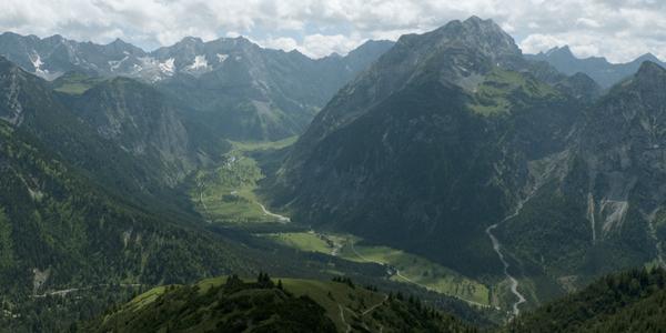 Grosser Ahornboden, Engtal, Karwendel, Österreich