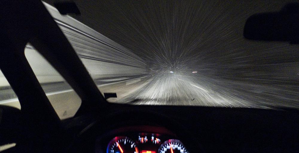 Schneetreiben II