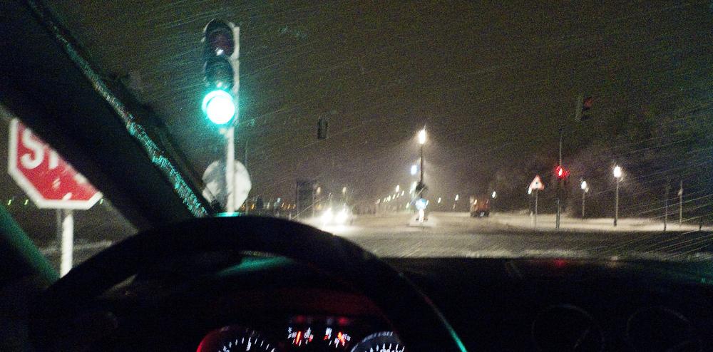 Schneetreiben III
