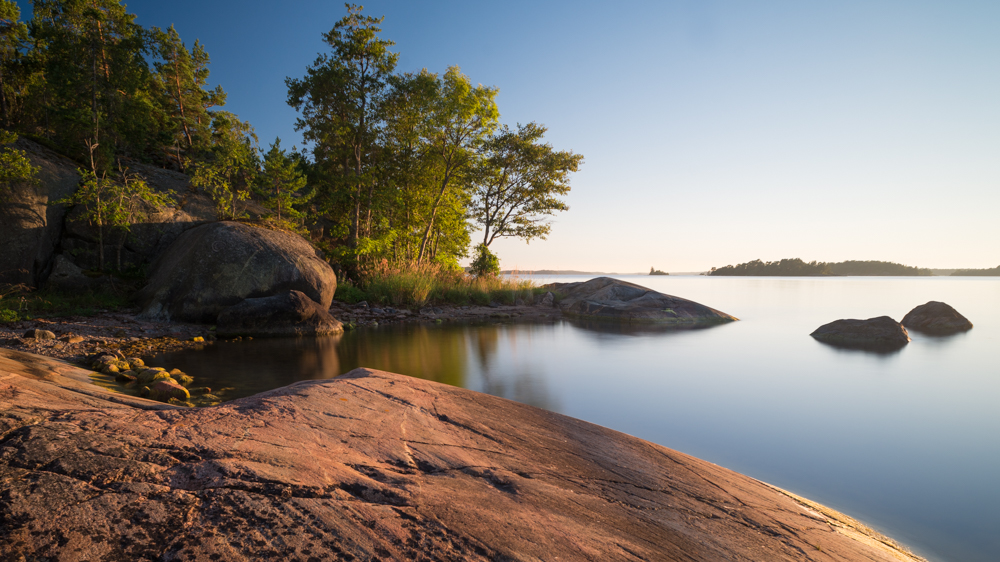 Schärenküste auf Yxlan - Ferien wie auf Saltkrokan (deren Filmort auf einer anderen Insel in der Nähe liegt), Archipelago, Schweden