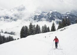 Auf Skitour mit Panorama zum Mürtschenstock