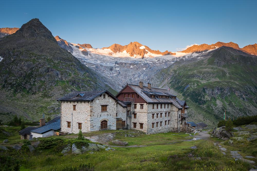 Berliner Hütte (2.044m) im Zillertal, Tirol